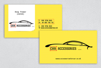 Custom Automotive Service Business Card Template