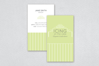 Cake Decorator Business Card Template
