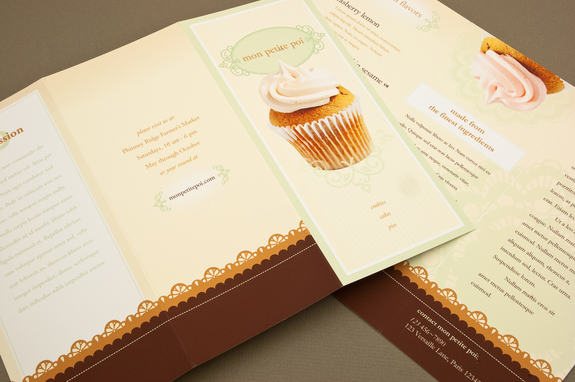Decorative Bakery Brochure Template Inkd - Bakery brochure template