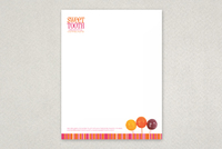 Candy Shop Letterhead Template