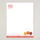 Candy Shop Letterhead Template
