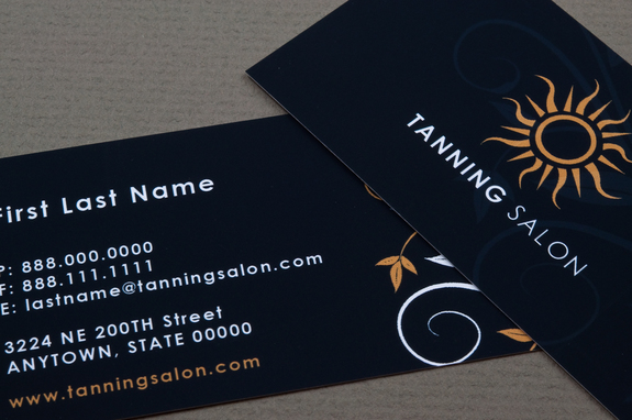 Tanning salon business card template inkd tanning salon business card template flashek Choice Image