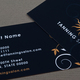 Tanning Salon Business Card Template