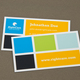 Colorful Squares Business Card Template