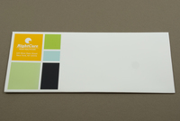 Colorful Squares Envelope Template
