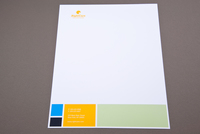 Colorful Squares Letterhead Template
