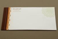 Decorative Bakery Envelope Template