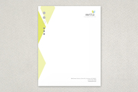 Wellness Diamond Letterhead Template