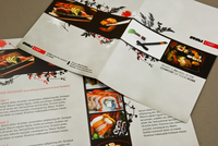 Sushi Chef Brochure Template