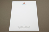 Asian Restaurant Letterhead Template