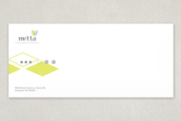 Wellness Diamond Envelope Template