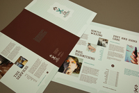 Hair and Nail Salon Brochure Template